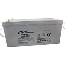 JIUHUA 12V 200AH rechargeable solar VRLA battery