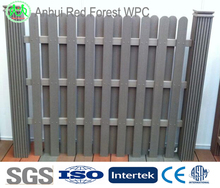 cheap waterproof wood plastic composite veranda fencing