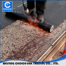 SBS bituminous waterproof membrane mineral fiberglass waterproofing