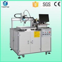 Two-part epoxy silicone mixing automatic potting machine