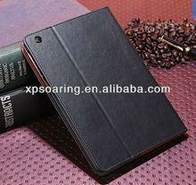 Credit card stand leather case pouch for ipad mini 2nd
