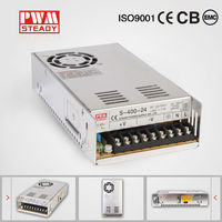 S-400W alibaba china indoor series constant voltage ce led driver 24v 400W led driver