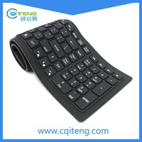 Shenzhen Waterproof Flexible Wireless Silicone Bluetooth Keyboard