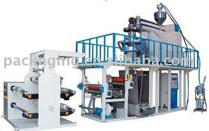 Rotary head PP Film Blowing Machine Set ( with double winders)