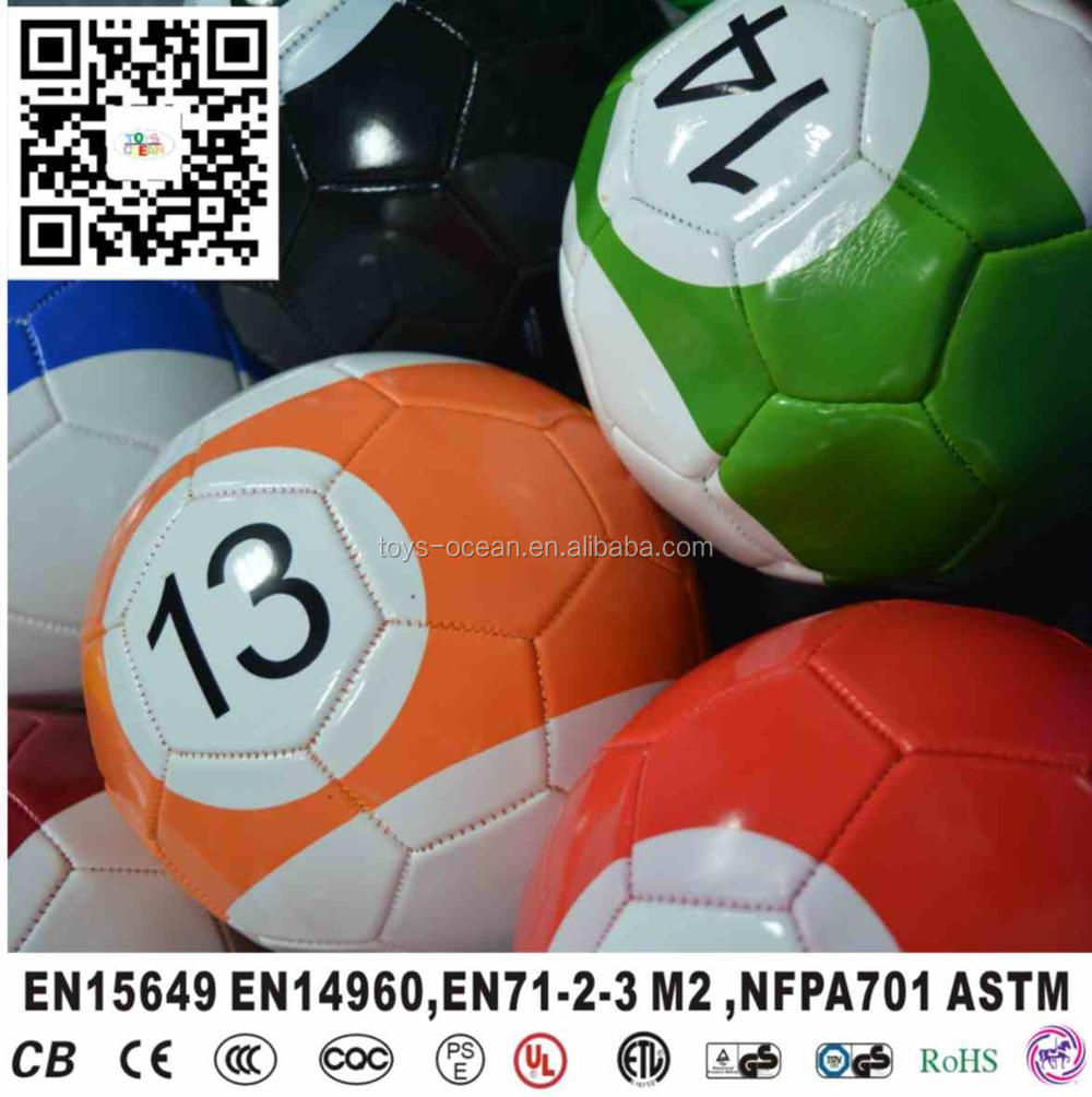 Inflatable Kick Shot Field Game Football Snooker Balls For Sale