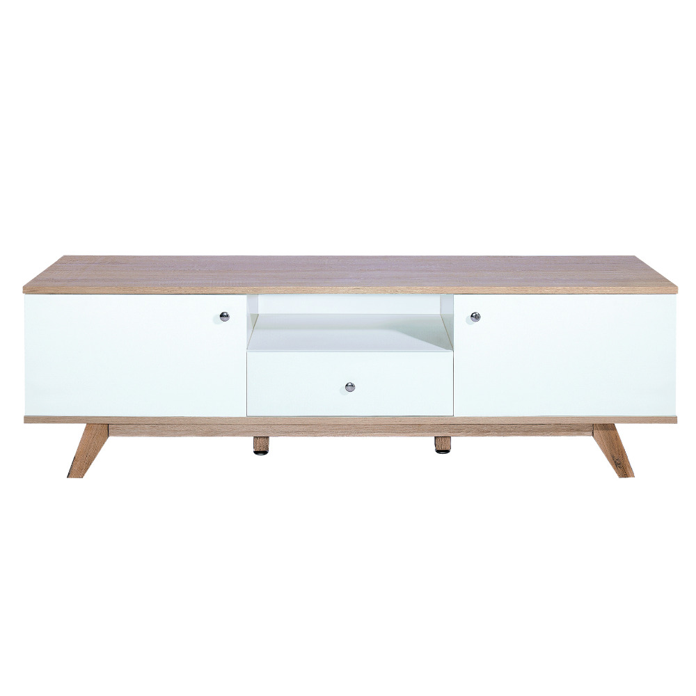 MDF TV Stand Large sideboard Coffee Table and Beech Leg