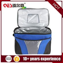 Wholesale outdoor picnic waterproof lunch box insulated can beverage shoulder cooler bag refrigerator