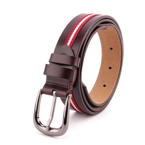 2018 hot selling popular brown genuine leather belts for women