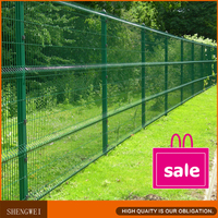 Shengwei Fence---Galvanized welded wire mesh fence panels