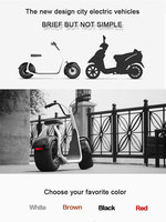 2016 new item fashionable electric motorcycle 800W