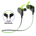 Hot selling 2017 amazon sport bluetooth headset with bluetooth headphone cable management clip