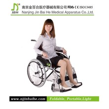 Steet foldable self propelled racing wheelchair