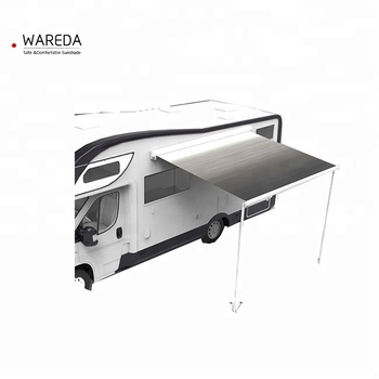 Fully Cassette Aluminum Retractable Camping Box Van Awning