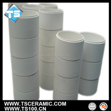 brush and abrasion resistant elbow made by aluminum oxide for cement industry