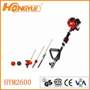 multi-purpose garden tools 4 in 1 hedge trimmer HYM2600/3050/4150