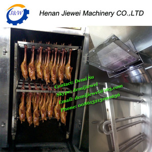 30-500kg Steam&Electric Sausage/Fish/Chicken/Duck/Dried Tofu smoking machine