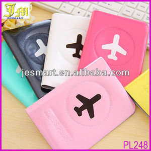2014 New Fashion Cheap PVC Passport Cover Holder Wallet Case Organizer Plastic Card Protector