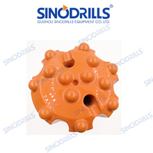 R38 T38 Spherical button rock drill bits with normal skirt