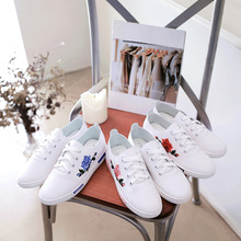 ZH1125C 2017 new design Korean lady casual shoes