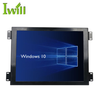 Cheap wifi celeron J1900 with Fan design 15 inch all in one touch screen pc linux