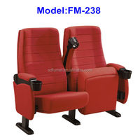 FM-238 Folding 4d cinema seating with cup holder