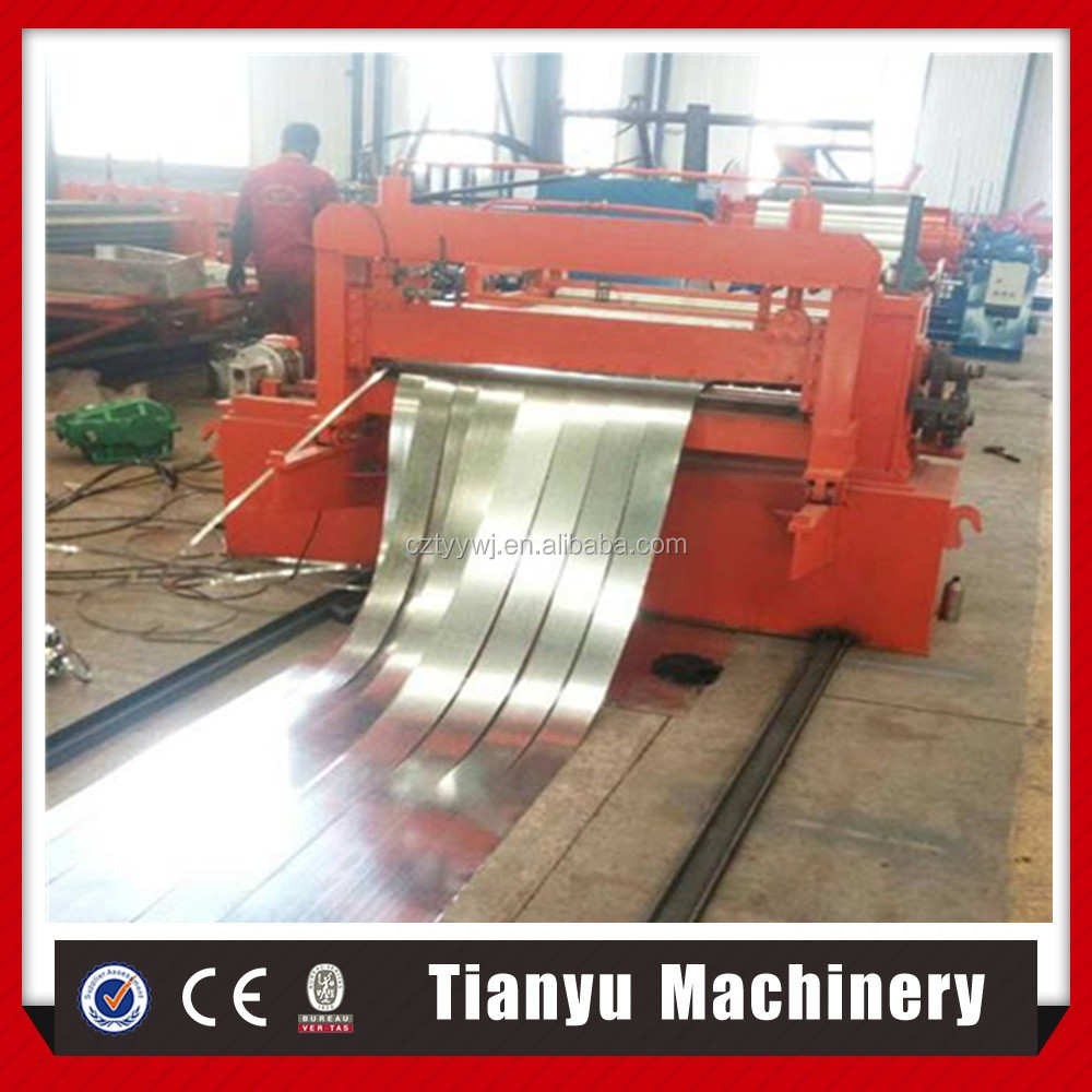 Tianyu aluminum coil cutting machine in cut to length and slitting line