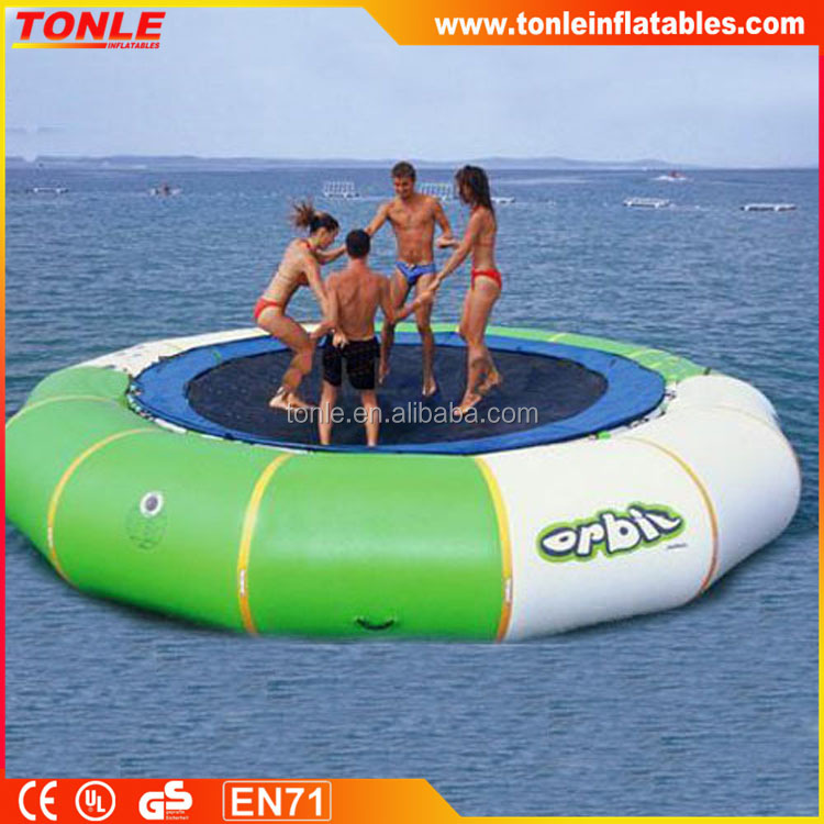 Hot selling Outdoor Inflatable Water Trampoline/ Water Sports Games