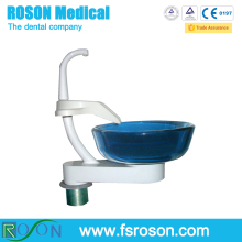 Roson Hot sale Foshan China manufacturer used dental chair spare parts dental chair equipment glass spittoon RV096-1