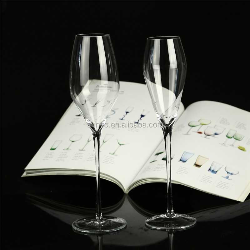 Handmade Fancy Crystal Champagne Glass Champagne Flutes Wholesale