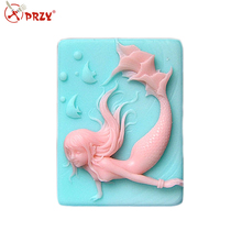 mermaid soap mold silicone ocean mold silicone molds for soap making handmade soap mould