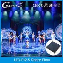 ip65 smd3528 Waterproof interactive led dance floor for disco and nightclub