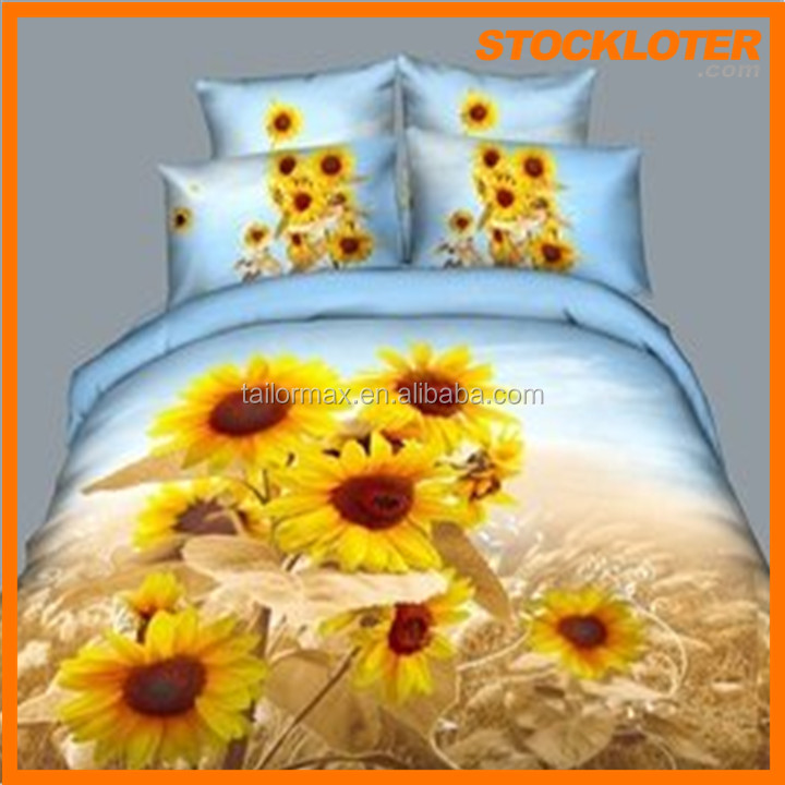 3d flower bedding sets stock beautiful panterns and design ready to ship very competitive price