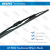 Long screw hooks windshield wiper blade universal wiper blade used car right and left hand drive