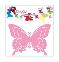 Decorative removable 3d butterfly wall stickers home decor mixed order