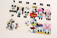 Cartoon Case For Coque iPhone 6 Case Cute Ultra Thin 0.3mm TPU Silicone Minnie Funda For Capa Para iPhone 5 6 6s plus 4.7""