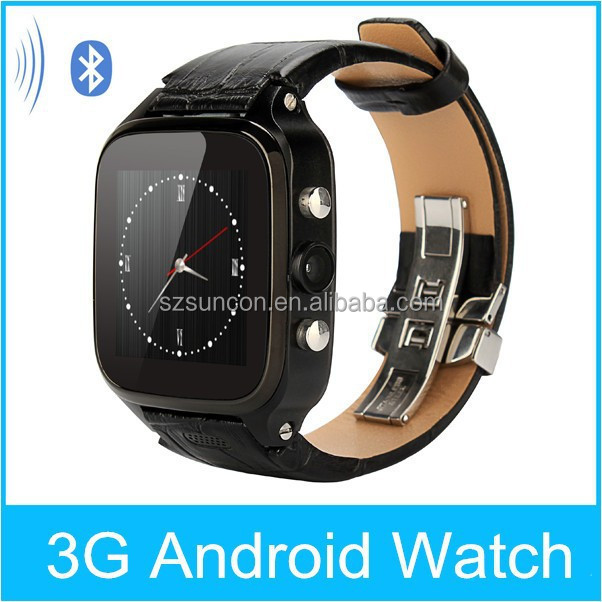 Android bluetooth smart watch 3g gsm mobile watch phone with video call