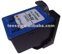 Refillable ink cartridge for HP22