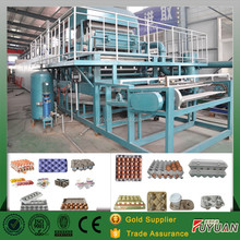 molded pulp fruit trays production line/box egg tray making machine with drying line