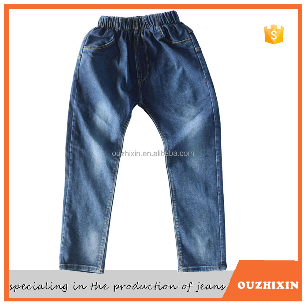 fashion latest top 10 jeans brands men elastic waist jeans china manufacturer factory