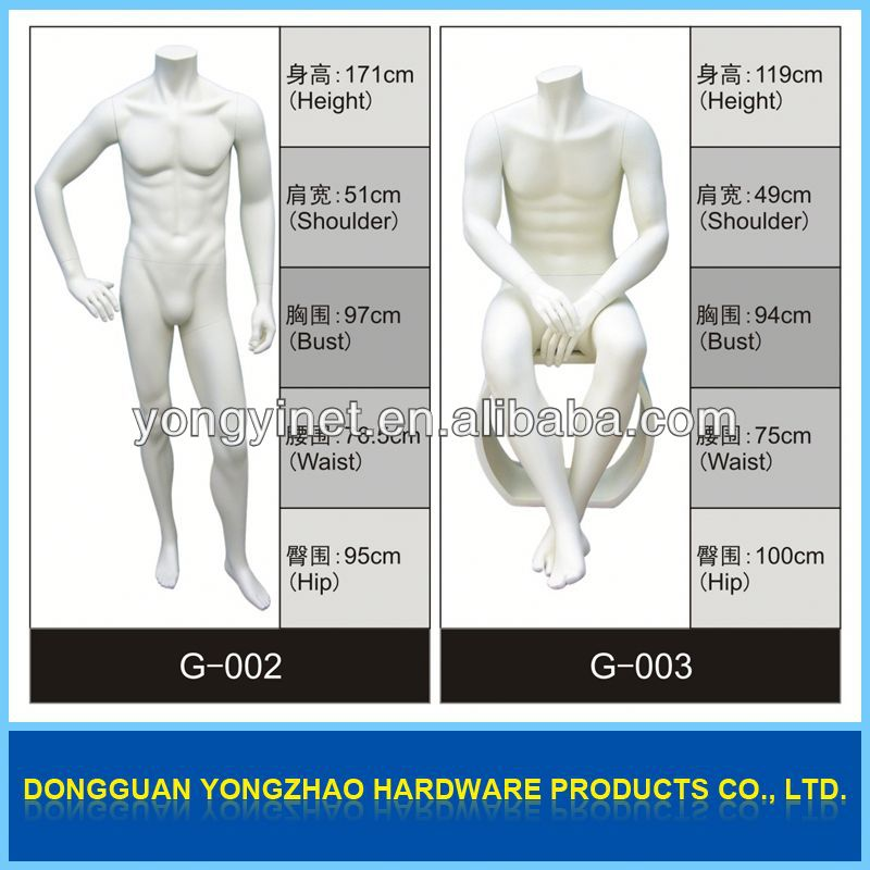 high quality male styrofoam mannequin head