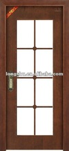 Interior Wooden Glass Door designs for office&school&hospital