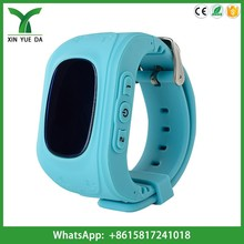 Manufacture q50 kids gps watch cell phone russian language