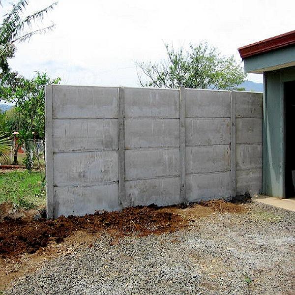 Precast concrete fence post mould for cement concrete fencing garden buy steel moulds for - Precast concrete fences ...