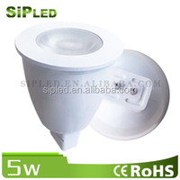 Hot selling led spotlight mr11 gu4 5w 5630 chip 2800k 3000k warm white 5W dimmable mr16 led spot light with low price