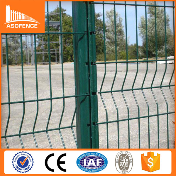 alibaba new products 55*200mm opening 3D fence/galvanized flat panel fence gates