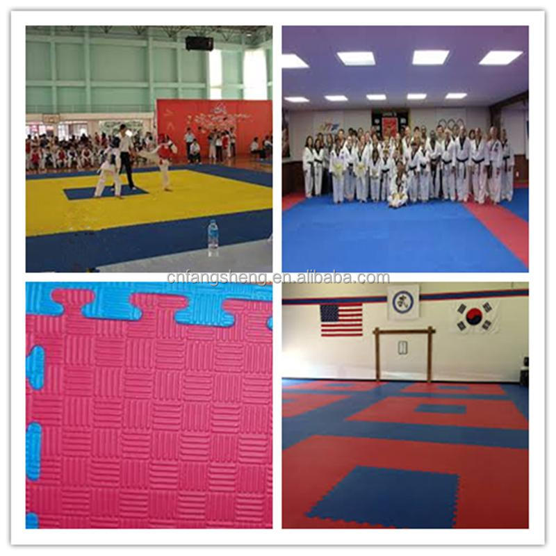 yellow martial arts mats wholesale/wholesale martial arts karate tatami jigsaw mats best exercise equipment for home