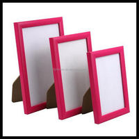Top quality promotional ps beveled mirror picture frames