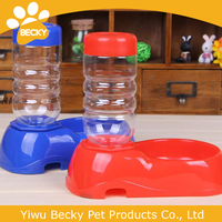 Pet Water Dispenser Food Dish Bowl Dog Puppy Cat Automatic Feeder