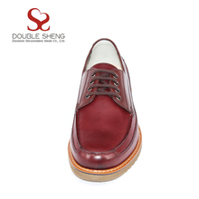 New model comfortable microfiber leather upper thick rubber sole shoes for men