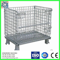 Collapsible steel cage